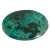 African Turquoise 30x40mm Oval 4Pcs Approx